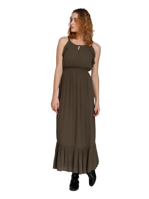 Olive Green Maxi Dress