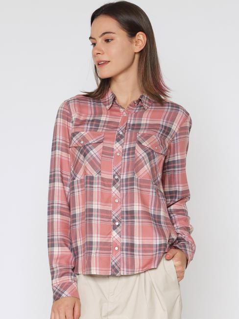 Rose Check Shirt