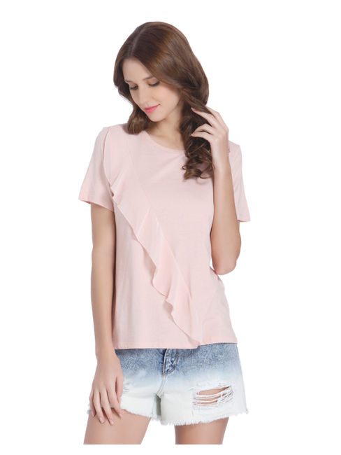 Casual Solid Top