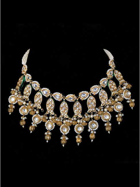 Golden Charm Necklace
