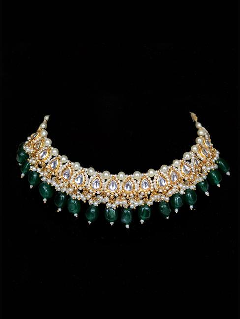 Emerald Kundan Necklace
