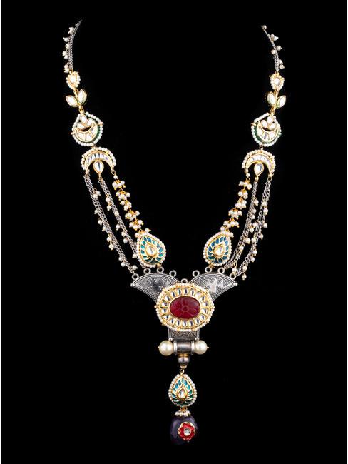 Ruby Amethyst Necklace