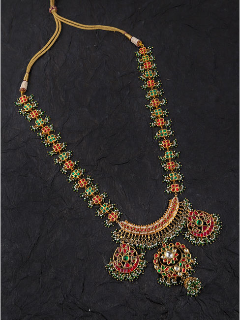 Bandhej Long Necklace