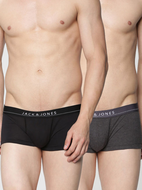 Pack of Two Brazilian Trunks - Black and Navy