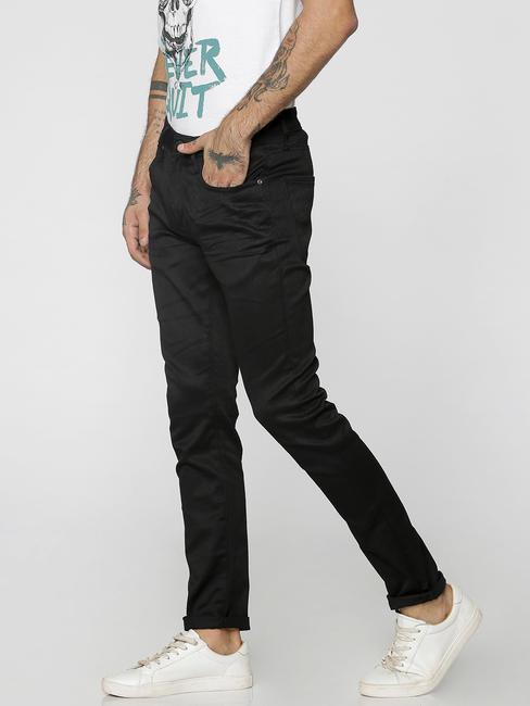 Black Ben Low Rise Skinny Fit Jeans
