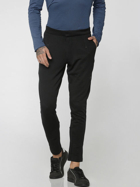Black Slim Fit Sweatpants