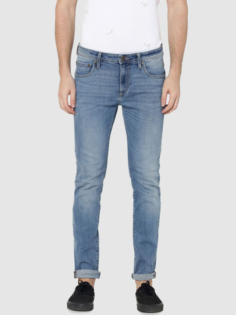 Light Blue Ben Low Rise Skinny Fit Jeans