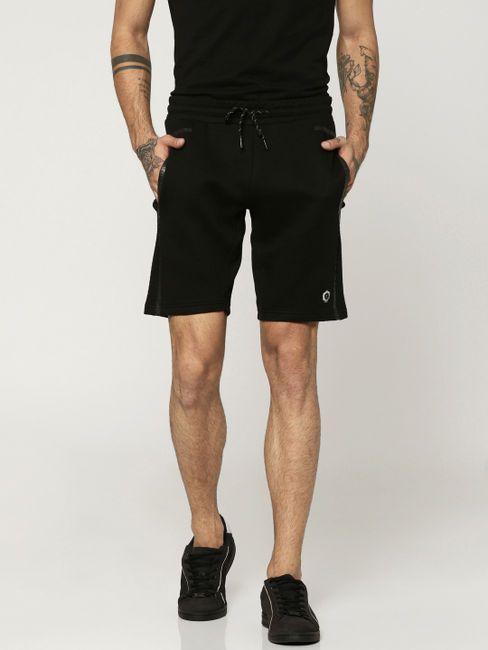 Black Sweatshorts