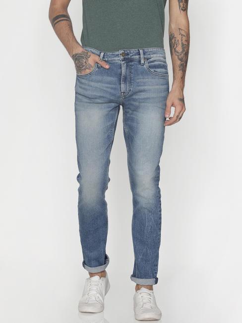 Light Blue Ben Skinny Fit Jeans