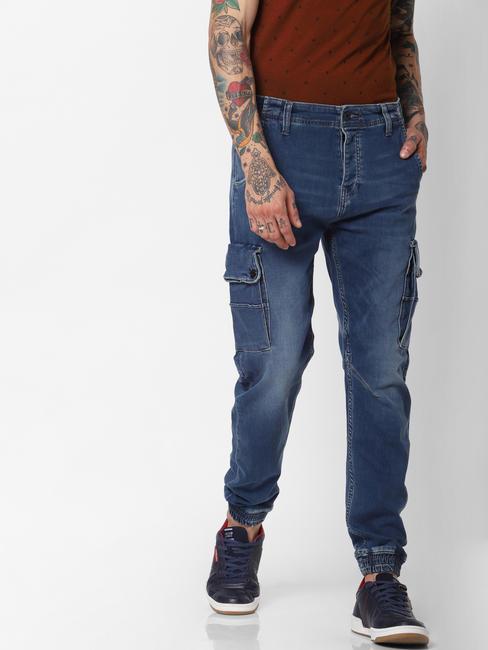Blue High Rise Paul Anti Fit Jeans
