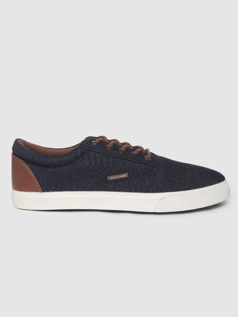 Blue Canvas Sneakers