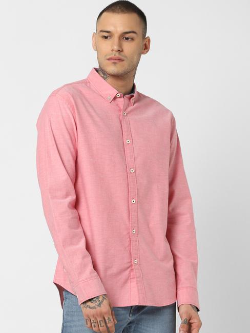 Pink Full Sleeves Shirt