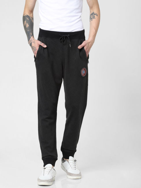 X Power Of Icon Black Sheild Print Sweatpants