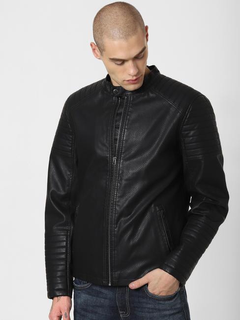 Black Perforated Jacket