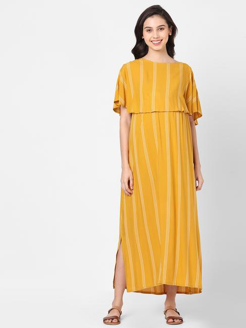 Happy Yellow Maternity Dress