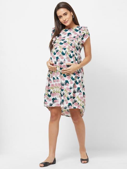 Maternity Floral Dress