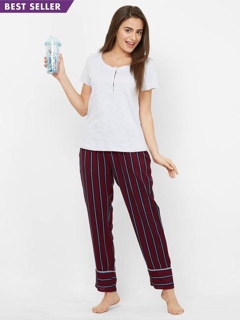 Cosy Cotton + Rayon Top & Pyjama Set