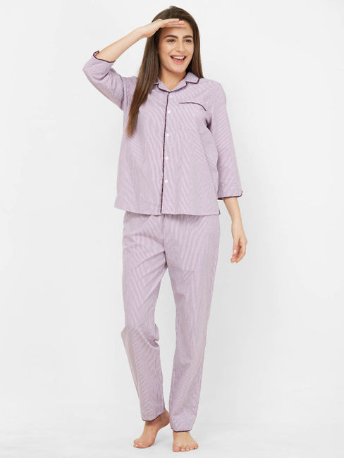 Classic Striped Pyjama Set