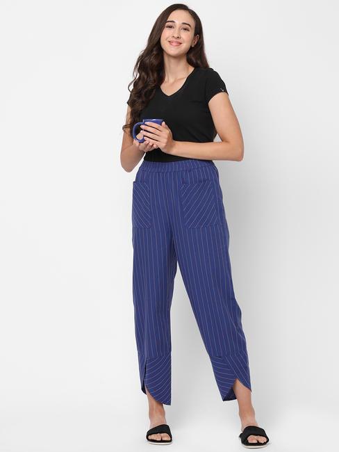 Cosy Striped Cotton Lounge Pants