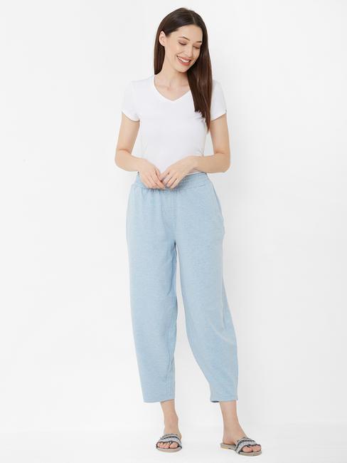 Cozy Blue Lounge Wear Pants