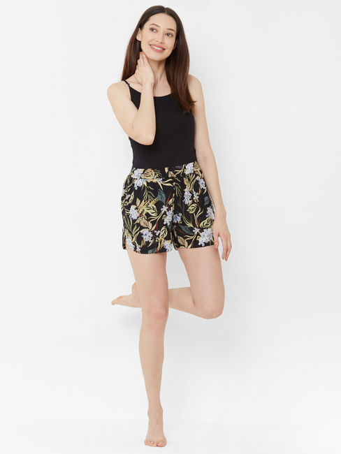 Comfy Floral Sleep Shorts