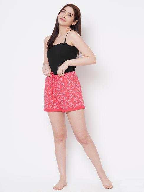 Pretty Floral Winter Shorts