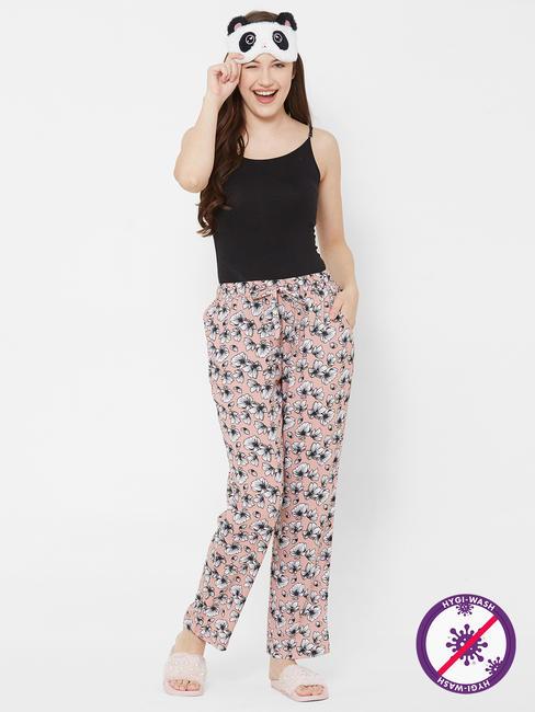 Pretty Floral Print Pyjamas