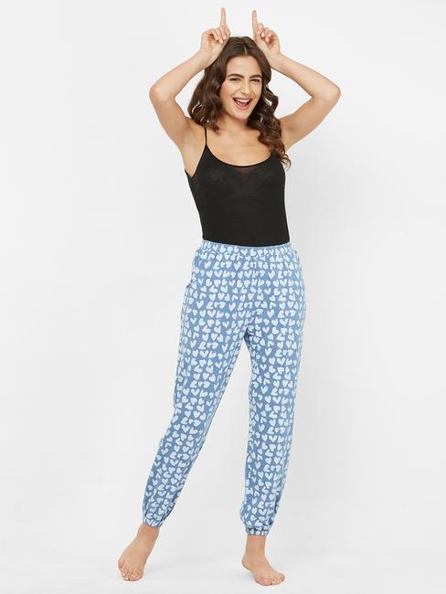 Stylish Heart Print Pyjama