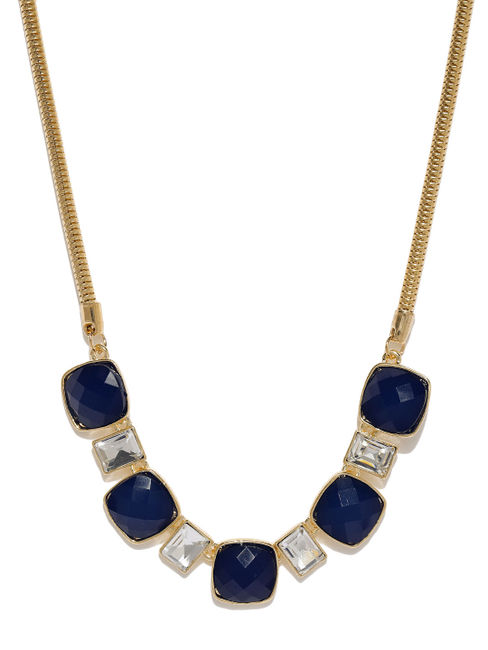 Women Gold-Toned Studded Alloy Necklace