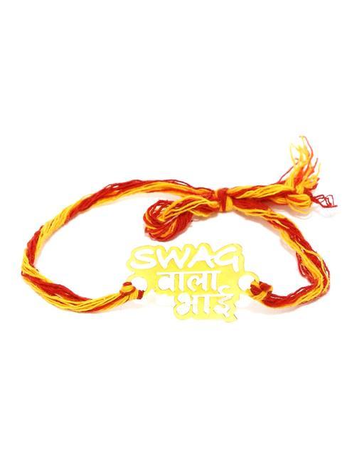 "ToniQ 'Swag Wala Bhai"" Gold Rakhi"