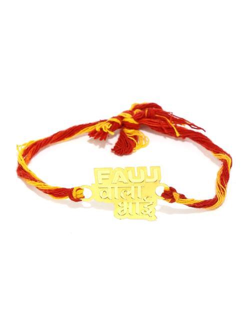 ToniQ 'Fauj Wala Bhai' Gold Rakhi