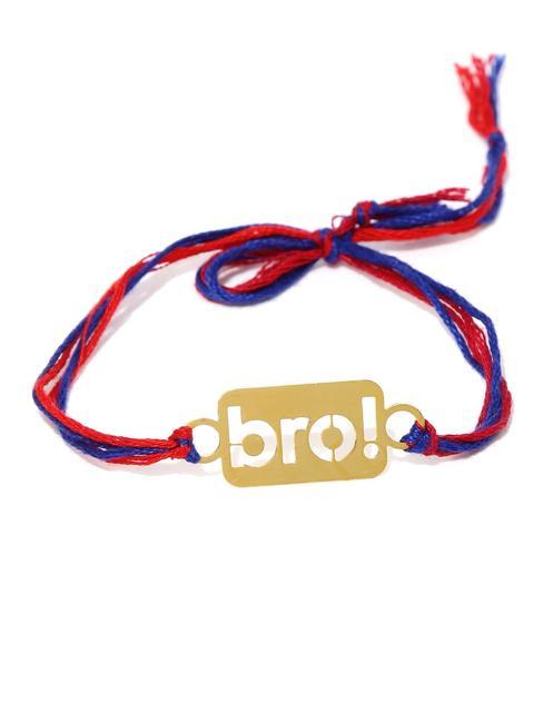"ToniQ 'BRO"" Gold Rakhi"