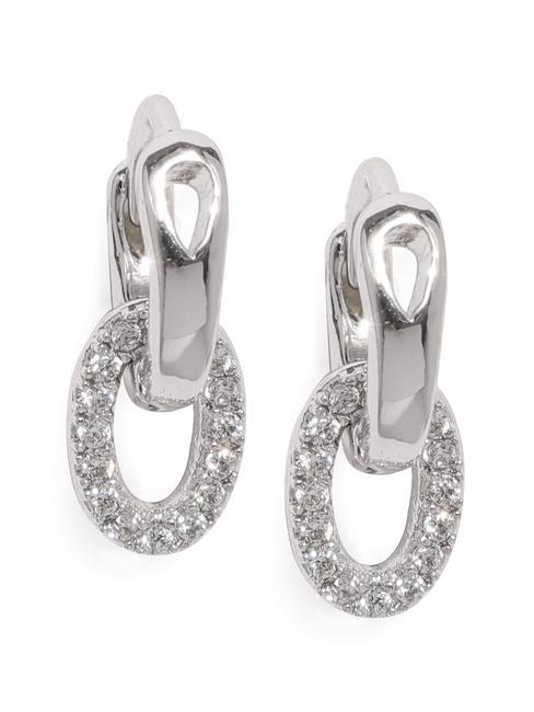 Silver-Toned Circular Cartilage Studs