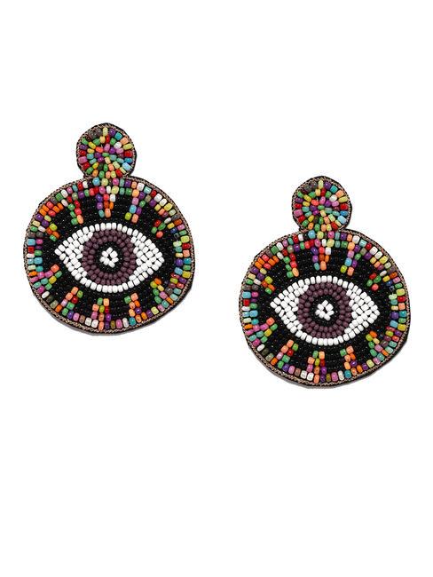 Evil Eye Drop Earrings