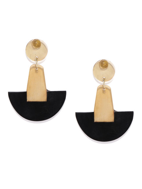 Acrylic Geometric Drop Earrings