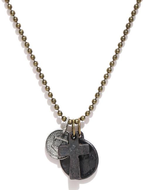 Men Antique Gold-Toned Necklace