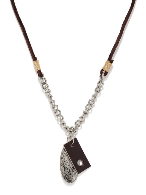 Brown Metal Necklace