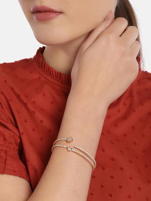 Gold-Toned Multistrand Coil Bracelet