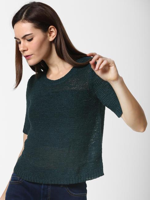 Dark Green Pullover