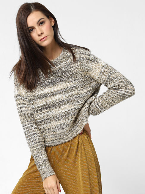Golden Shimmer Pullover