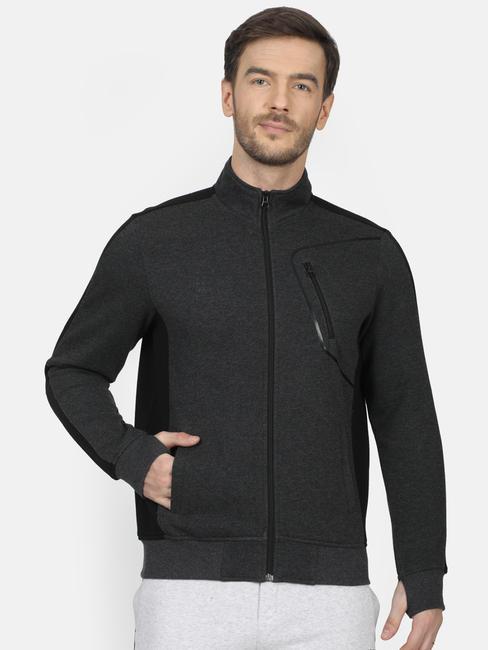 Rockit Anthra Collar Regular Fit Sweatshirt