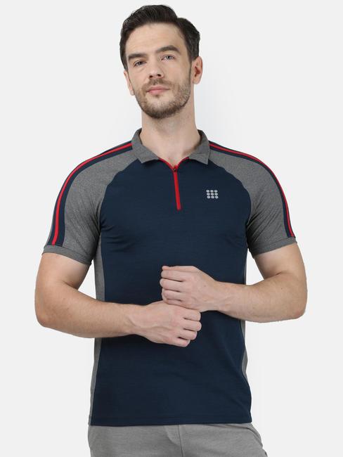 Rock.it Navy Collar Regular T-Shirt