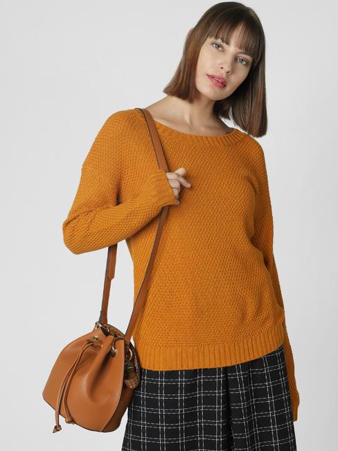 Orange Pullover