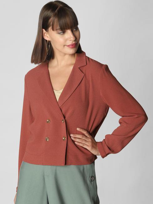 Brown Tailored Blazer