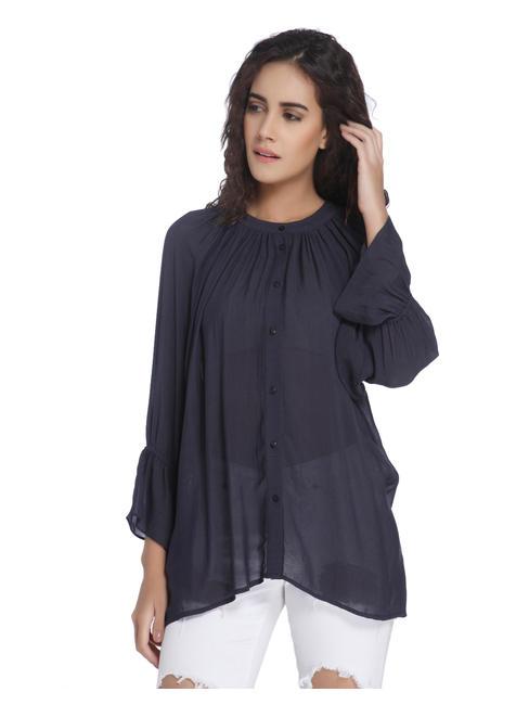 Ombre Blue Shirt