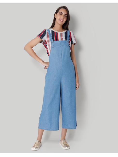 Blue Maxi Jumpsuit