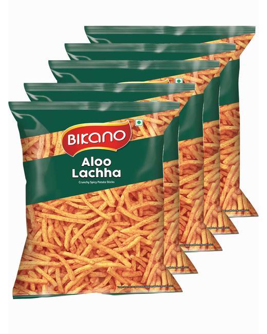 Bikano Aloo Lachcha 150 gm (Pack of 5)