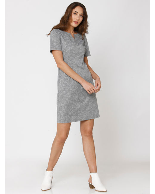 Grey Shift Dress