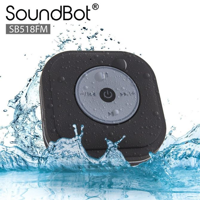 SoundBot SB518 Shower Bluetooth Speaker