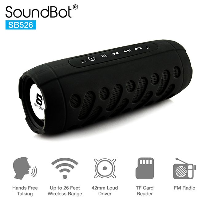 SoundBot SB526 Bluetooth Speaker